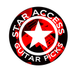 Star Access Guitar Picks