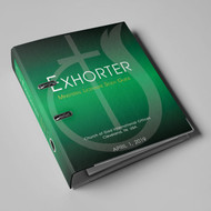 Exhorter PRINTED Study Guide (with specializations)