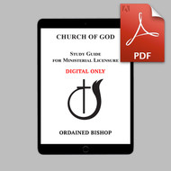 Ordained Bishop DIGITAL Study Guide (PDF)