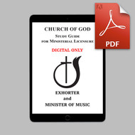 Exhorter (2019) and Minister of Music DIGITAL Study Guide (PDF)