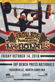2016 IBP BENCH PRESS NATIONALS POSTER