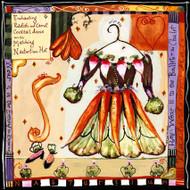 Carrot Dress Tile Trivet