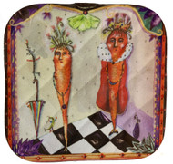 King Carrot Pot Holder
