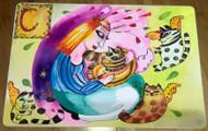 Cat Lover Original Painting