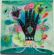 SOLD Musical Hand Original Painting