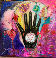 Magical Hand Original Painting