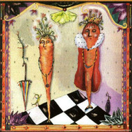 Carrot King & Queen Tile Trivet