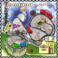 Toaster Roller Coaster Tile Trivet