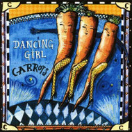 Dancing Girl Carrots Tile Trivet