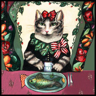 Cat & Fish Tile Trivet