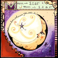 Moon & Star Gallery Tile Trivet