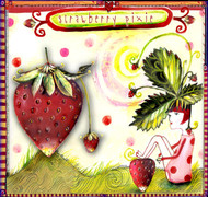 Strawberry Pixie Ceramic Tile