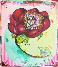 Peonie Queen Original Painting