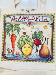 Veggies Gone Wild Tote Bag