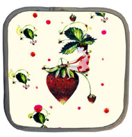 Strawberry Bike Pot Holder