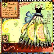 Asparagus Dress Tile Trivet