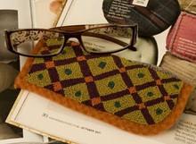 Blocked Spectacle punchneedle pattern designer Threads That Bind