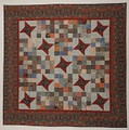 Friendship  Stars and 16 Patch Quilt pattern