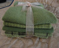 HAND-DYED FELTED WOOL BUNDLE Sage Brush