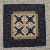 railroad,crossing,clothesline,quilts,table,topper,kit,Auntie,Jus,Quilt,Shoppe