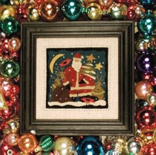 Santa's Helpers punchneedle pattern designer Shawn Williams Threads That Bind