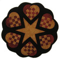 Woven Hearts pattern