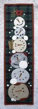 Frosty Mugs pattern designer Threads That Bind -  Shawn Williams kit by Auntie Ju's Quilt Shoppe