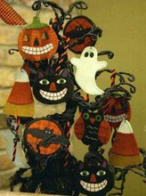 Sweet & Spooky Wool Ornaments designer Buttermilk Basin