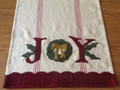 Joy Table Runner designer Buttermilk Basin - Stacy West