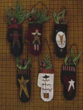 Wool,Mitten,Ornies,Primitive,Gatherings,BQ138