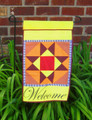 Garden Flag - Welcome