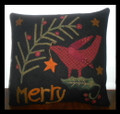 Merry pillow pattern