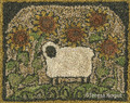 Punch,needle,pattern,TK103,Sunflower,Sheep,Auntie,Jus,Quilt,Shoppe
