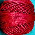 Valdani Perle Cotton #12 solids - O775 Turkey Red