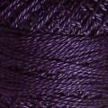 Valdani Perle Cotton #12 solids - 87 Rich Purple