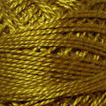 Valdani Perle Cotton #12 solids - 153 Antique Gold