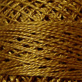 Valdani Perle Cotton #12 solids - 154 Deep Antique Gold