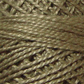 Valdani Perle Cotton #12 solids - 180 Olive Stone Medium Deep