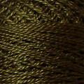 Valdani Perle Cotton #12 solids - 199 Dark Olive Green
