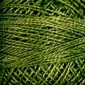 Valdani Perle Cotton #12 solids - 823 Olive Green Dark
