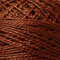 Valdani Perle Cotton #12 solids - 1641 Red Brown Light