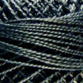 Valdani Perle Cotton #12 solids - 8111 Black Light