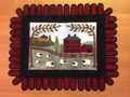 Red House Penny Rug