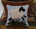 Primitive Pincushion - Sheep pattern and kit designed by JPVDesigns - Julie Ploehn-Vigna