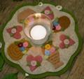 LS Basket Candle Mat pattern