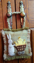 March,Hare,door,hanger,wool,appliqué,pattern,designer,JPV,Designs,kit,Auntie,Jus,Quilt,Shoppe