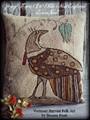 Spring Thyme in Olde New England punchneedle pattern designer Vermont Harvest Folk Art