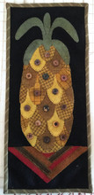 Pineapple Delight Lily Anna Stitches designer wool appliqué