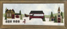 Jan Mott of Crane Designs - winter Sleigh Ride