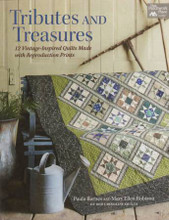 Tributes and Treasures authored by Paula Barnes and Mary Ellen Robison